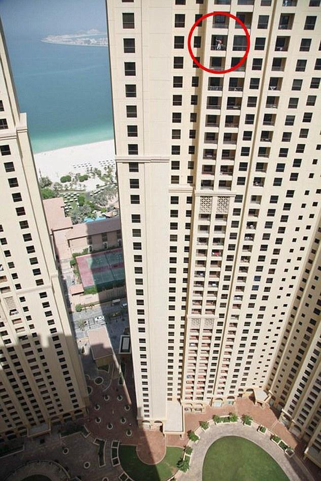 промышленный альпинизм Дубаи